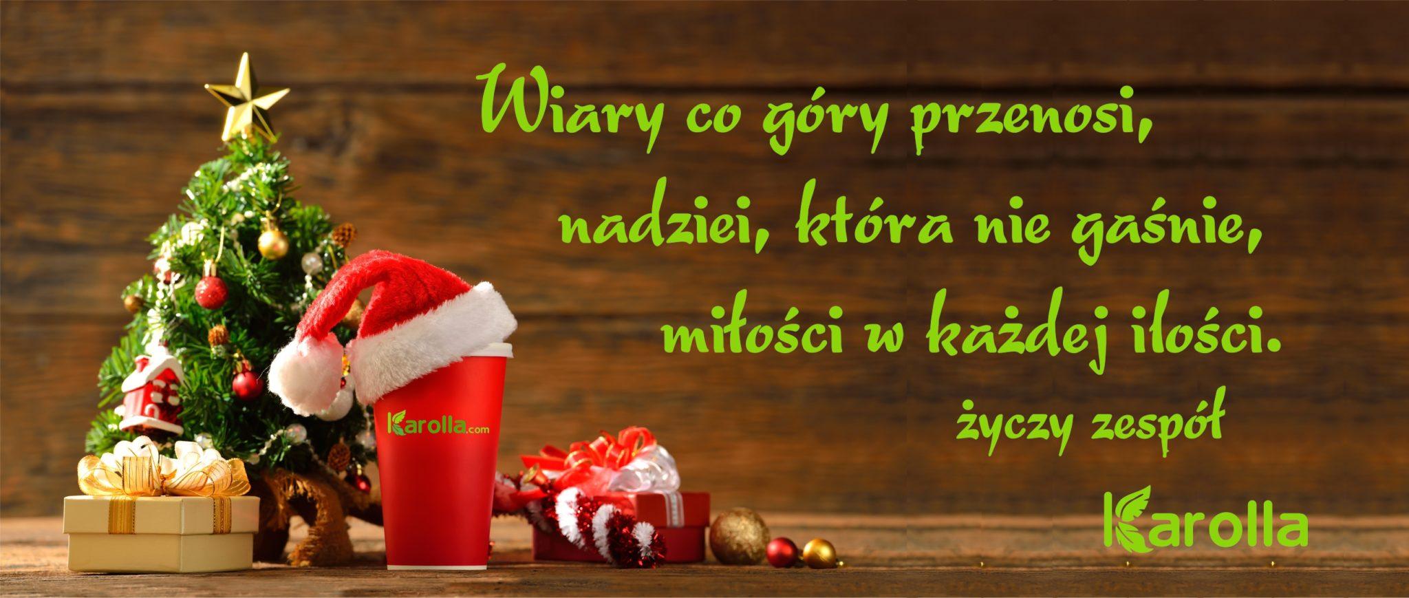 producent kubków papierowych życzenia świąteczne