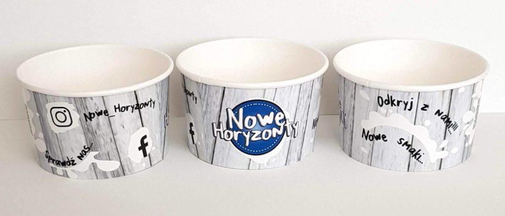 kubeczki papierowe do lodów