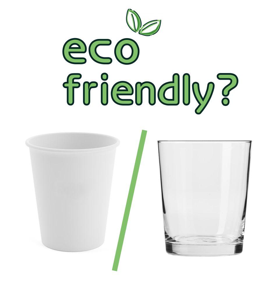 Kubek papierowy, czy szklanka – co jest bardziej eko-friendly?